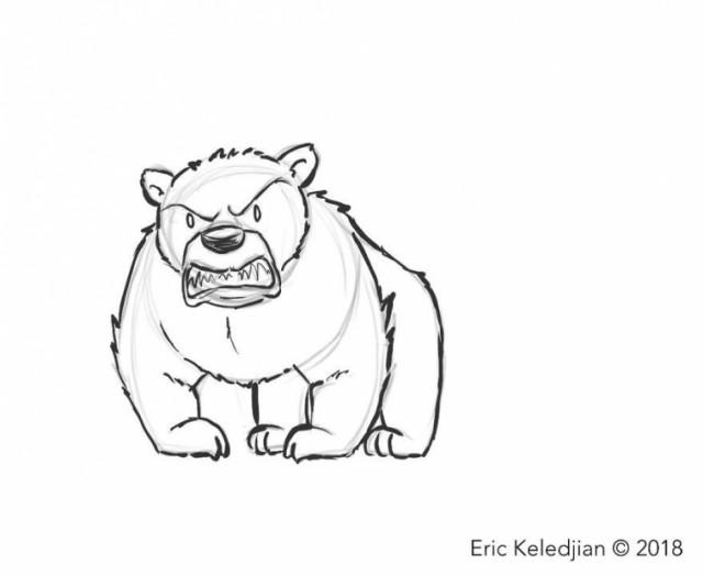 Художник нарисовал медведя и добавлял к нему одного персонажа в день, и вот что вышло