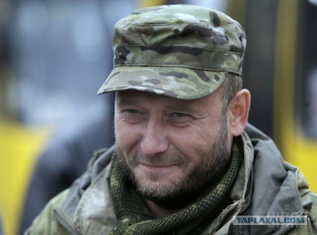 Дмитрия Яроша ранили