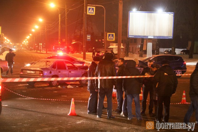 Постреляли в Питере банду c Кавказа