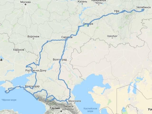 Путешествие в ЛНР, ДНР, Крым и на Кавказ 2019