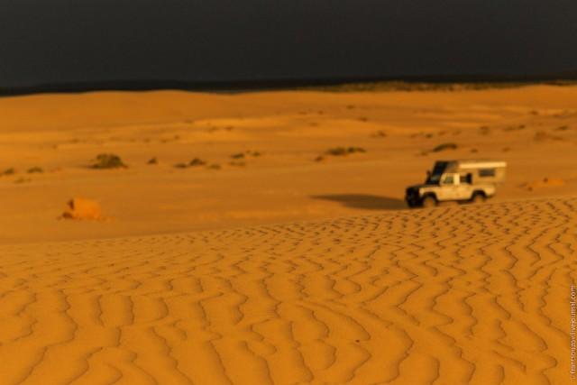 Пустыня вместо моря