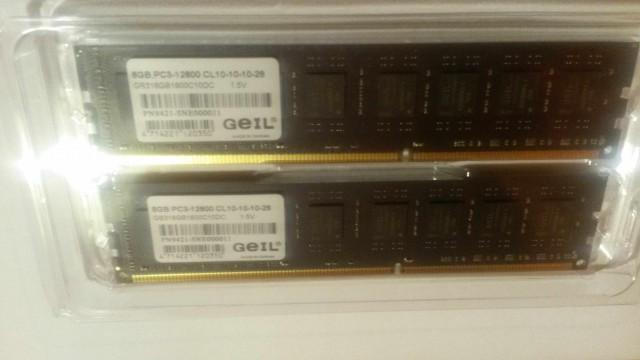 Продаю AMD FX 8350 и две планки по 8 Гб.