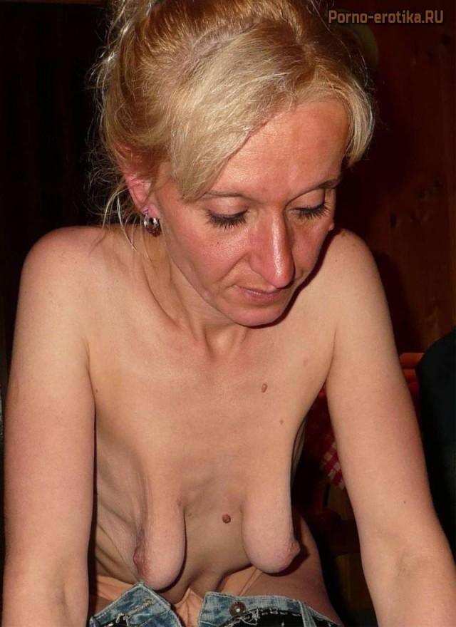 Обвисшие груди секс фото