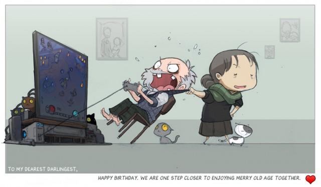 Заядлый геймер в будущем