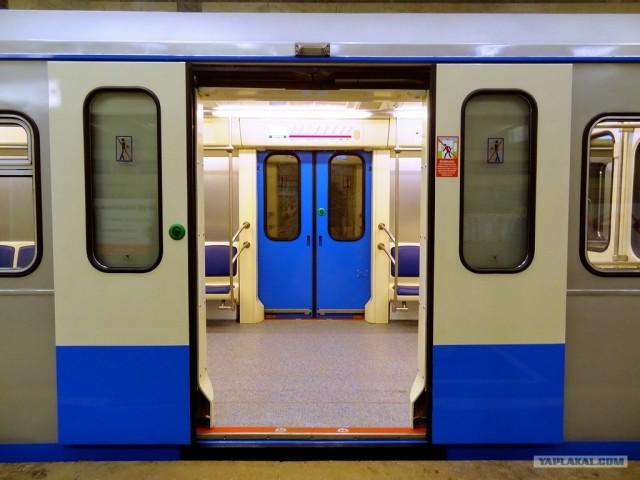 В Москве на линию вышел новый поезд метро