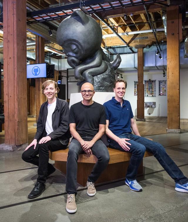 Microsoft купила GitHub за 7,5 миллиарда долларов
