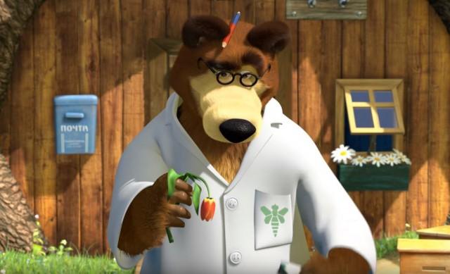 Шок - это когда в Маше и Медведь находишь отсылку на Во все тяжкие