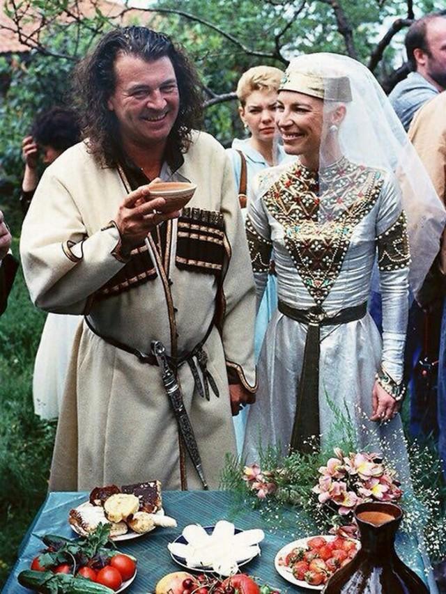 Свадьба Яна Гиллана в Грузии