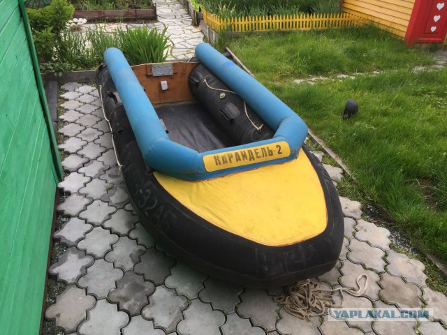 Лодка Караидель с мотором Troll 2.5