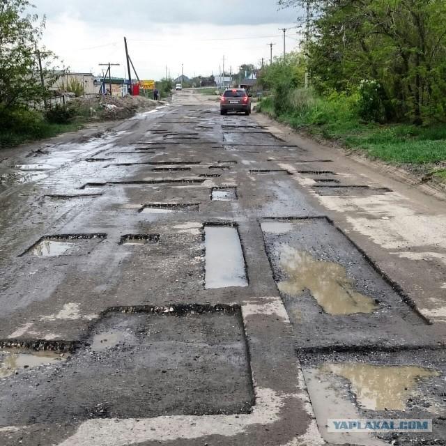 Волгоградские дорожники не ищут легких путей!