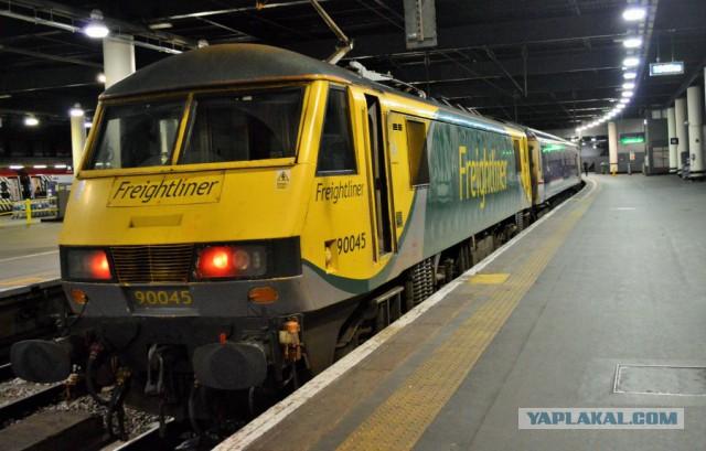 Вся правда о британских ночных поездах. Из Лондона в ''Форт-Уильям'' Эдинбург.