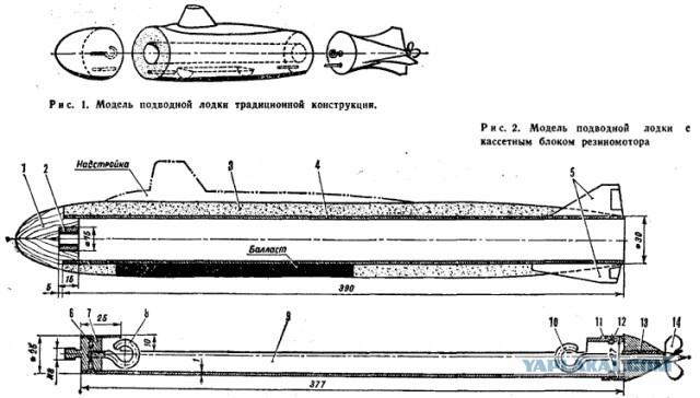 макет подводной лодки своими руками из бутылок