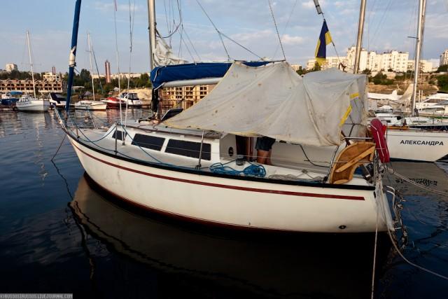 Переход Севастополь-Синоп на яхте по Черному морю