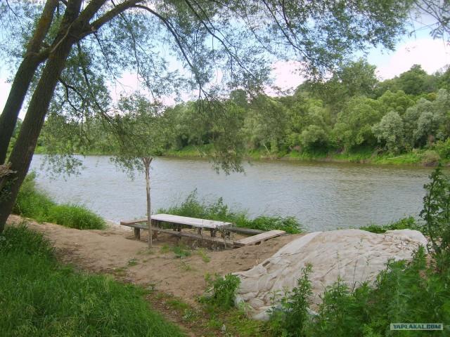 Сплав по реке Ока 2014