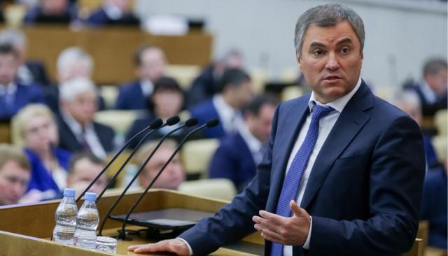 Володин обвинил в популизме депутата, заявившую об утрате связи власти с народом