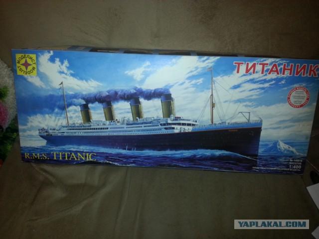 """""""Титаник"""". Собираем модель"""