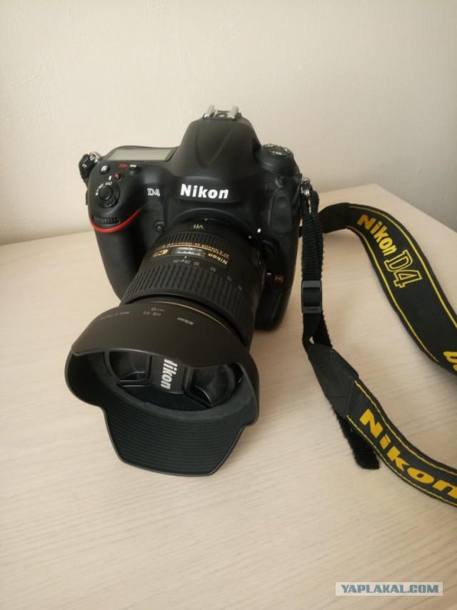 Продаю фотоаппарат Nikon D4