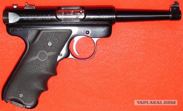 Самодельный мелкокалиберный револьвер
