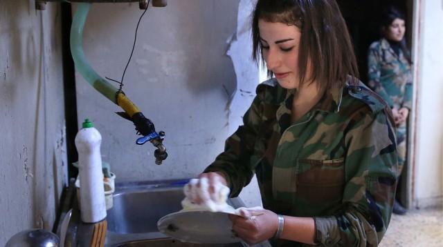 Сирийский женский батальон