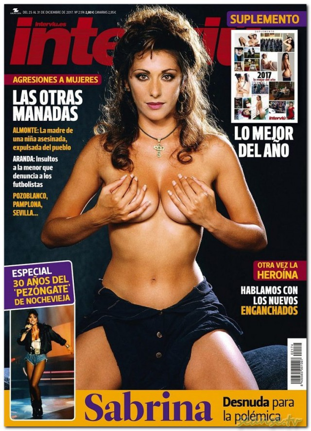 Sabrina Salerno toples.