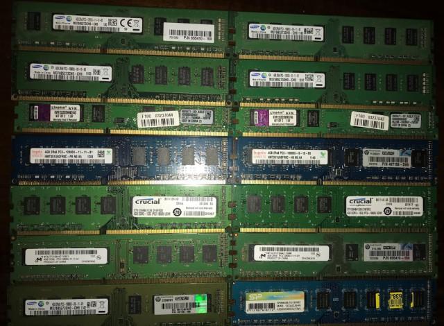 Продам память DDR3-4gb