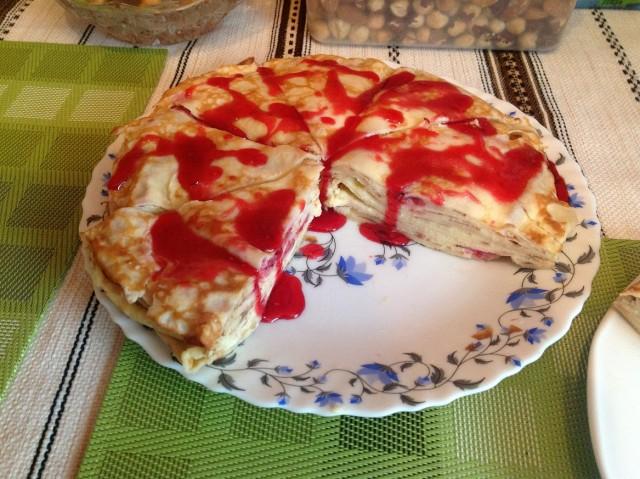 Блинчиковый торт рецепт с фото