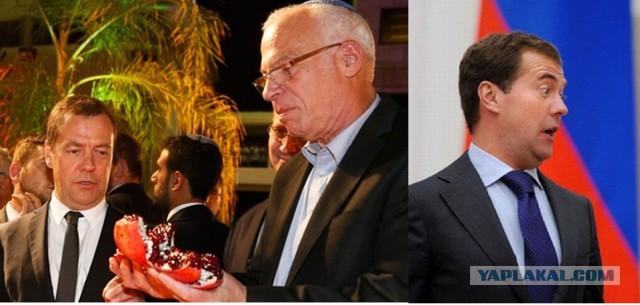 В Израиле пожалели о подаренной Медведеву дорогой «игрушке»