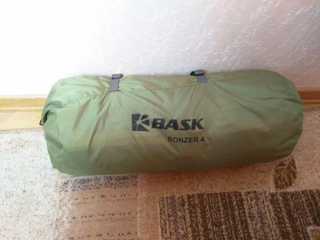 Новая туристическая палатка Bask Bonzer 4