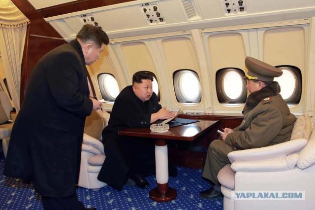Самолет Ким Чен Ына