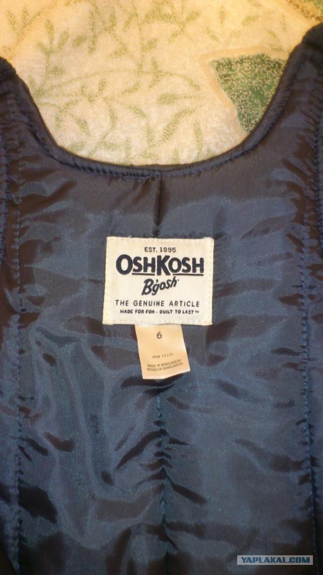 Продаю детский зимний комбинезон OshKosh. Москва