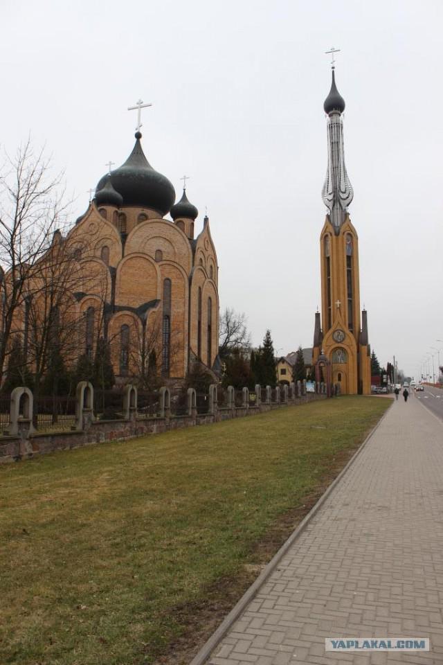 Фотоотчет: Польша, Литва, Латвия.