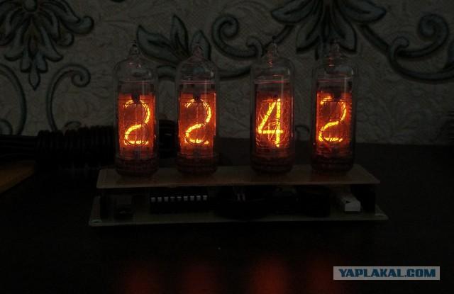 Часы на индикаторах ИН-14
