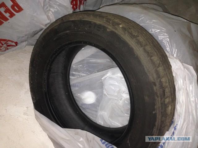 Продам резину лето 205/60 r16 6000 руб 4 колеса