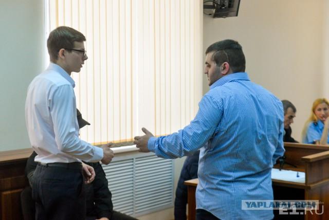В показаниях нестыковки: мажора, который устроил драку с парнем в Екатеринбурге, допросили в суде