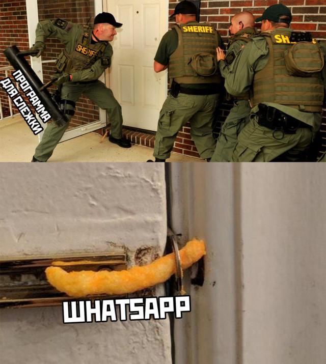 Израильские спецслужбы следили за владельцами iPhone через WhatsApp