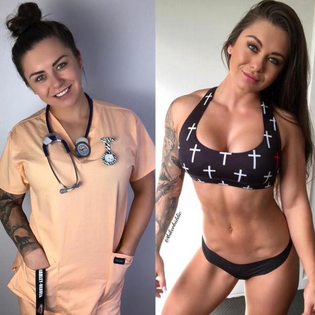 Самая горячая медсестра, у которой вы бы не захотели выздоравливать