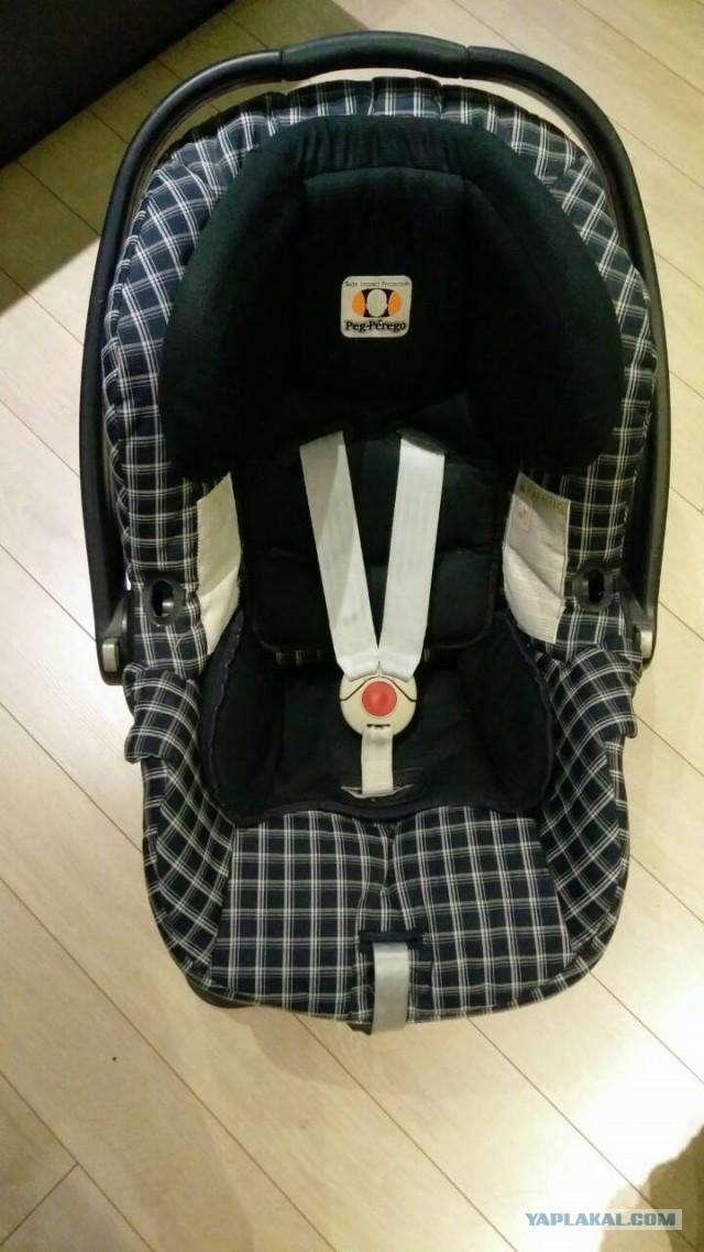 Кресло автомобильное PEG PEREGO 0-13 кг + ходунки
