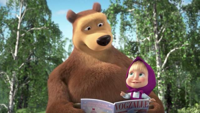 Британские СМИ назвали «Машу и Медведя» пропагандой Кремля