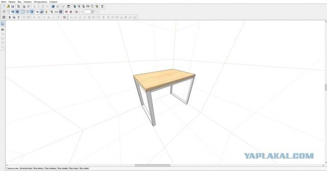 Поворотно-откидной стол в стиле лофт своими руками