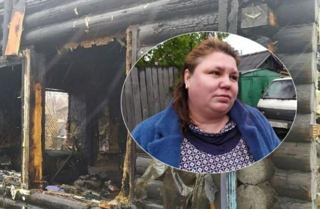 Сибирячка вытащила из горящего дома трех малышей, хотя все кричали ей, что там никого нет