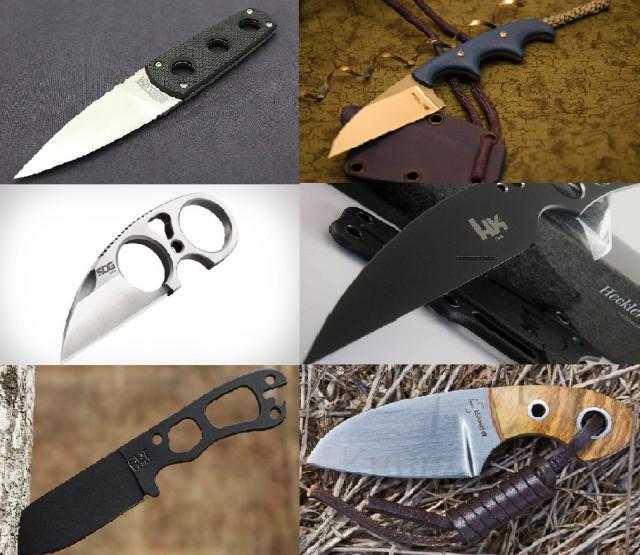 ТОП 7 ножей для скрытого ношения