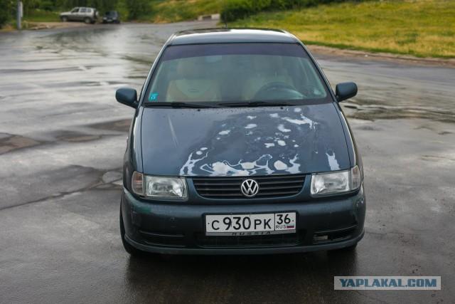 Невероятный Volkswagen Polo III в Воронеже