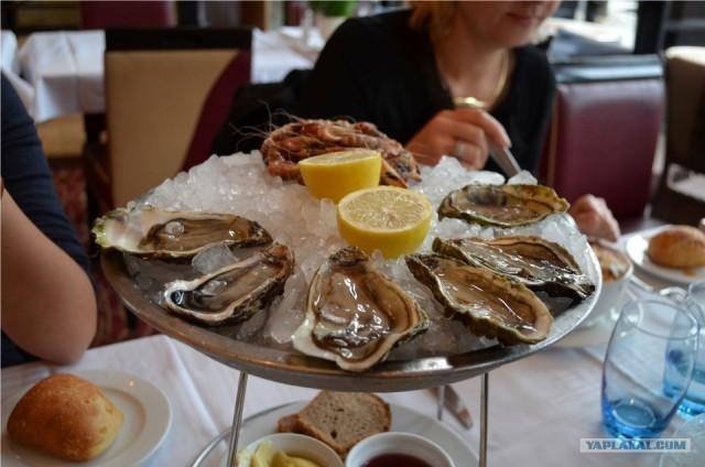 Наблюдения за французской кухней в Париже