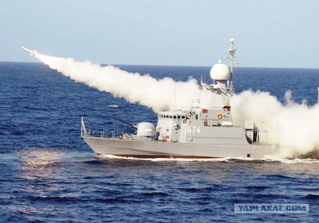 ВМС Египта открыли огонь по боевым кораблям Ирана