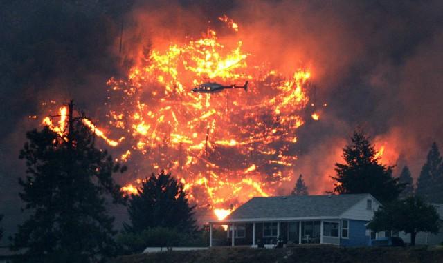 Канадцев возмутило игнорирование властями помощи от РФ в борьбе с лесными пожарами