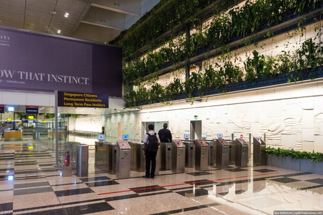 Перелет в Сингапур бизнес-классом