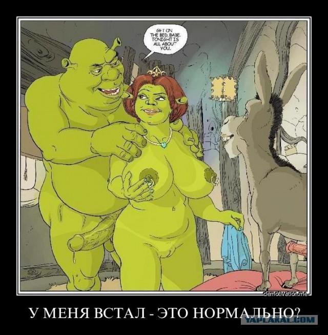 Порно фото шрек 94202 фотография