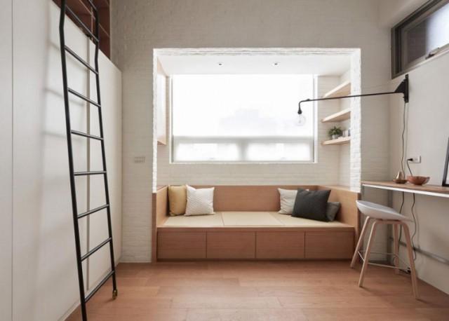 Люди не могут поверить, что в этой крутой квартире всего 22 м², но в ней есть всё