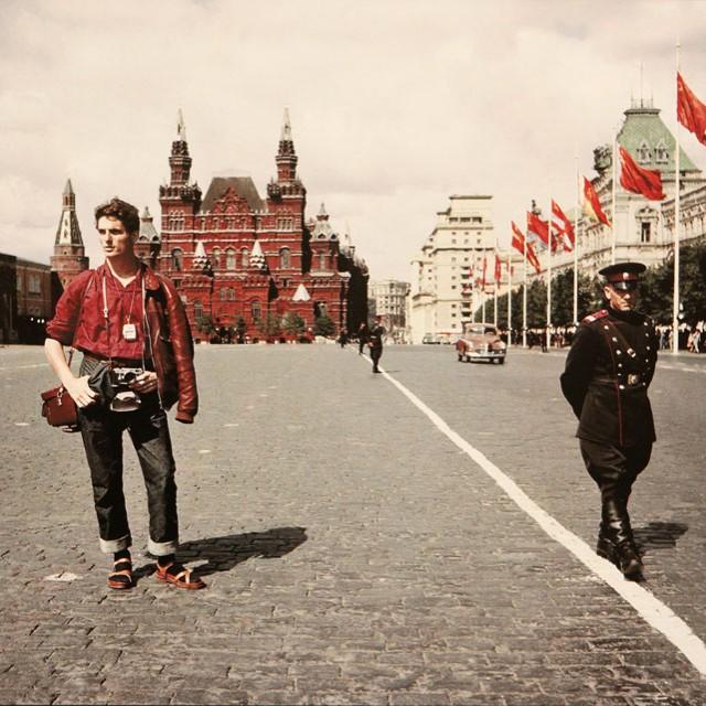 Москва 1957 года глазами швейцарского репортера