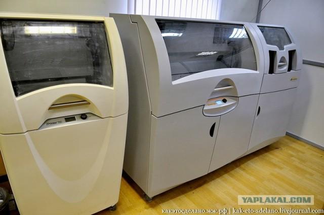 Как работают 3D принтеры и 3D сканеры.